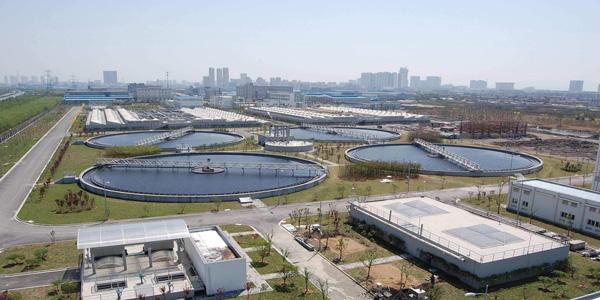 厦门市规划建设污水处理厂