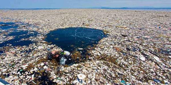 携手一起来治理塑料污染