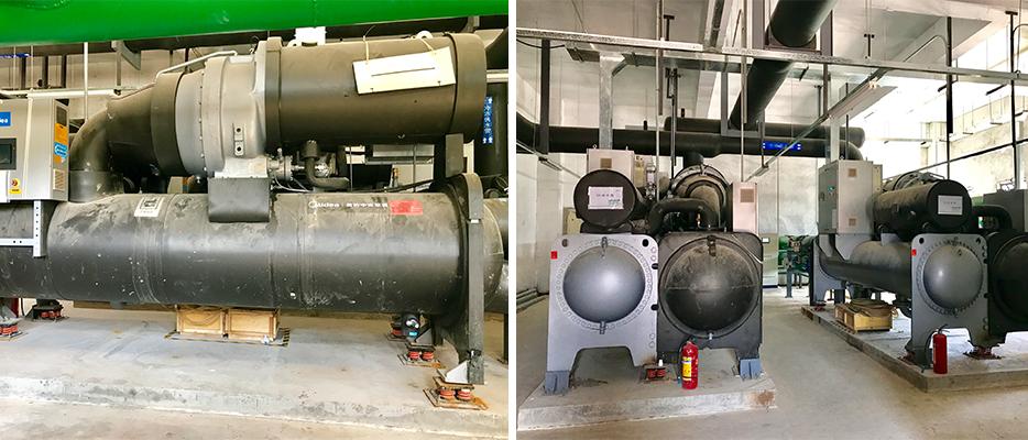 冷水机设备展示