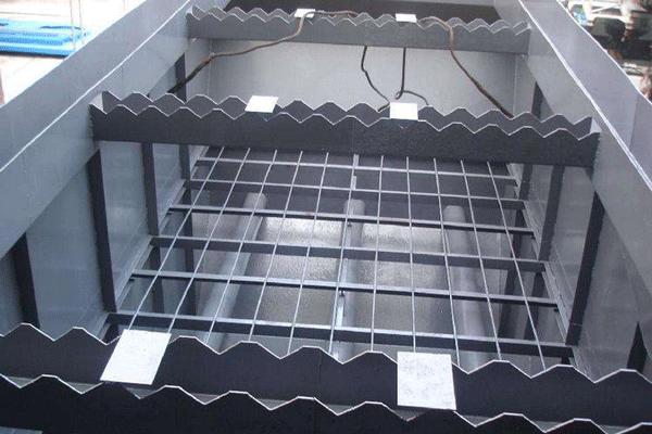 斜管(或斜板)式沉淀