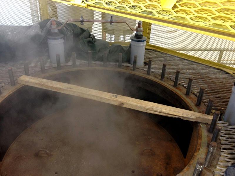 煮炉过程中