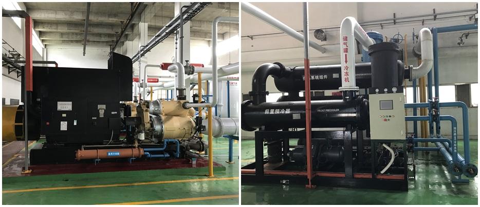 空压机系统解决方案设备展示