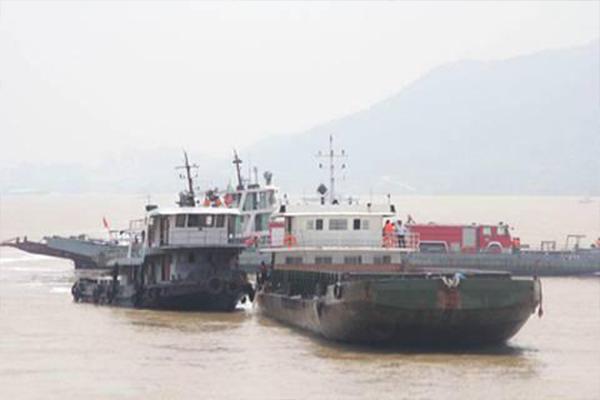 长江干线船舶水污染物