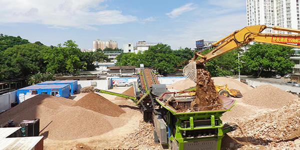 深圳机场实施建筑废弃物再利用