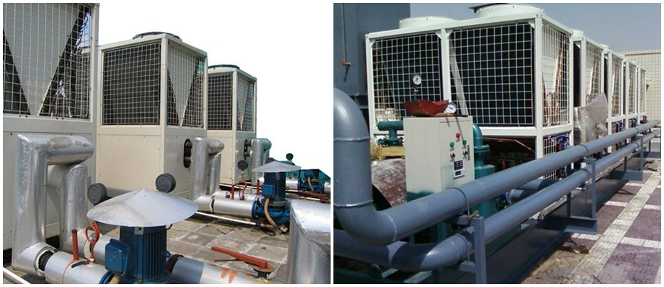 中央空调系统解决方案设备展示