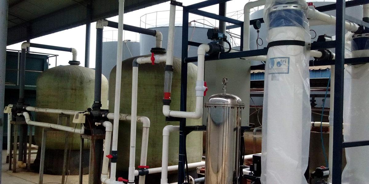 旁滤池滤料选择会影响循环水浓缩倍数