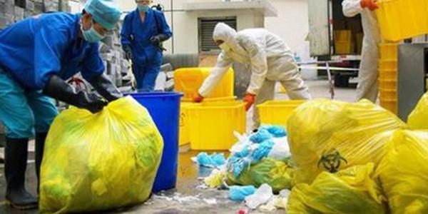 生态环境部:全国医疗废物处置能力为每天6094.1吨